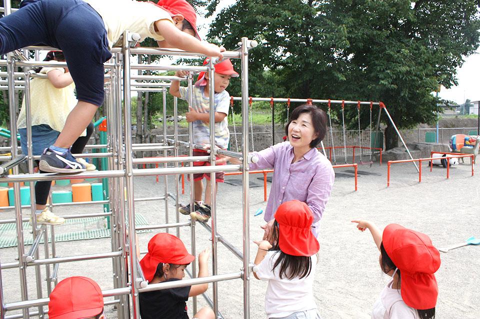 吉岡町保育園訪問